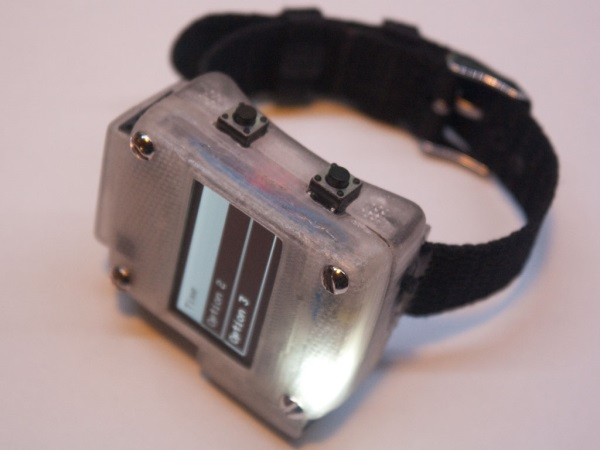 Build Your Own 3D Printed Smart Watch