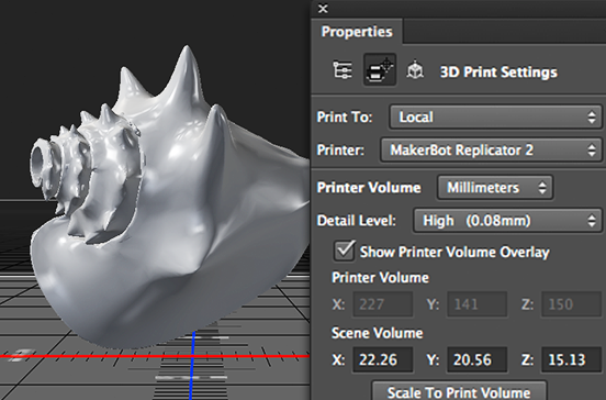 Adobe Introduces new 3D Printing Features to Photoshop CC
